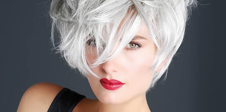 comment blanchir les cheveux gris
